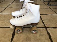 Chicago White Quad Roller Skates Women's Size 8