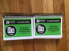 NEW! ROGER CPA REVIEW flash cards 2019 FAR