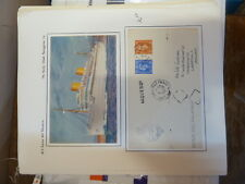MV Reina del Pacifico Unused PPC and 1952 Paquebot Envelope (37baz)