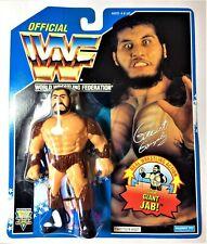 WWF/WWE HASBRO SERIES 10 GIANT GONZALEZ WITH GIANT JAB MOC