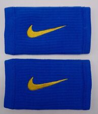 Nike Reveal Dw Doublewide Wristbands Blue Rush/Amarillo