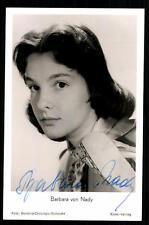 Barbara von Nady Rüdel Autogrammkarte Original Signiert ## BC 20938