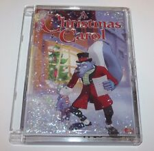 A Christmas Carol Dvd in Rare Case _ Glitter / Glycerin / Moving / Water Case