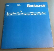 Vintage 1983 National Geographic Bird Sounds Guide 4 Flexi Disc Record 33rpm F-1