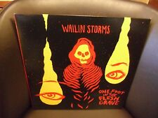 Wailing Storms One Foot In The Flesh LP NEW CLEAR Colored vinyl + download