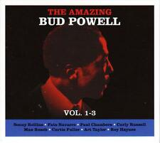 BUD POWELL - THE AMAZING BUD POWELL - VOL. 1-3 (NEW SEALED 3CD)