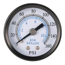 "Pressure Gauge Pressure Manometer Air Compressor Pressure 0-10 bar 1/8"" NPT"