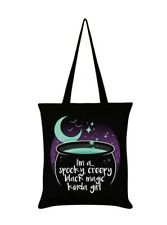 Witchy crossbody tote coffin bag goth bag spooky bag magick
