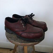 Underground Originals London Creepers Burgundy Leather UK 9