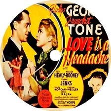 Love Is a Headache (1938) Gladys George Franchot Tone Mickey Rooney V Rare DVD