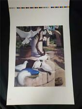 "= Walt Disney Snow White Wishing Well Art Print 11-1/4"" by 17-1/2"""