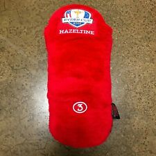 2016 Ryder Cup Hazeltine Red 3-Wood Head Cover AME