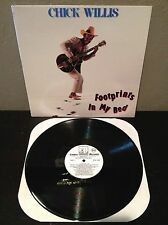 Chick Willis - Footprints In My Bed LP vinyl record EX