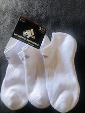 Adidas White 3 Pairs Of Socks