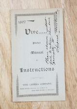 Vive Instruction Book, Cover Written On/cks/194447