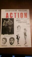 1970 NWA wrestling program WWWF vintage Brisco Graham Roop AWA Patterson Rhodes