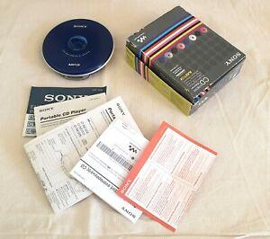 SONY CD WALKMAN D-NE004, Blue (mp3)