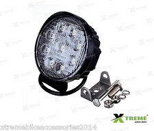 9 Cree LED 27w Fog DRL Off Road SUV Bar Light For  TVS Scooty Pep