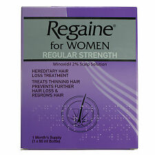 Regaine for Women Regular Strength Scalp Solution 60ml
