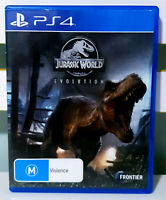 Jurassic World: Evolution PS4 Game! Sony Playstation 4 Frontier Game