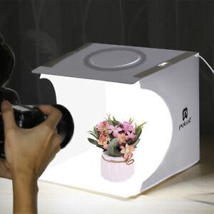 LIGHT ROOM PHOTO STUDIO PHOTOGRAPHY LIGHTING SHOOT TENT BOX DIMMABLE LED KITS F