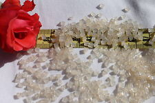 8/0 Triangle Toho Glass Seed Beads 14-Ceylon Lt Ivory / 28 grams # 147
