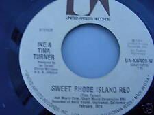 IKE & TINA TURNER 45 SWEET RHODE ISLAND RED MINT