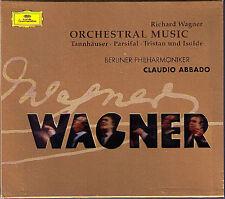 Claudio ABBADO: WAGNER Tannhäuser Parsifal Tristan und Isolde DG CD Liebestod