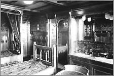 Photo: Titanic Interior: 1st Class Double Cabin: Dutch