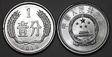 2010 China 1 Fen Coin BU Very Nice UNC KM# 1