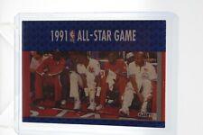 MICHAEL JORDAN 1991 1992 Fleer Basketball Card #233 All Star Game Chicago Bulls