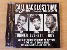 Call Back Lost Time/Cobra Recordings Of Ike Turner & Betty Everett/2001 CD Album