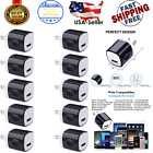 10 Pack 1A 5V USB Wall Charger Cube Box For iPhone iPhone 5 6 7 8 10 11 12 Max