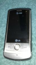 Lg Shine Cu720 Silver (At&T) Cellular Slider Phone Used No charger or sim card