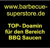 www.barbecue-superstore.de Domainname Webadresse BBQ Saucen Snacks USA Domain