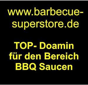 www.barbecue-superstore.de Domainname Webadresse BBQ Saucen Snacks USA Domain