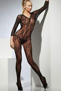 Womans Body Stocking Long Sleeved Fancy Dress