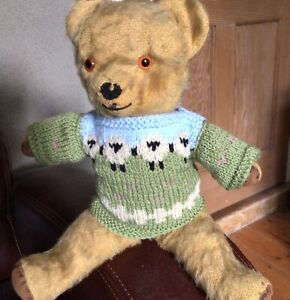 Hand Knitted Teddy Bear Clothes