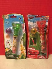 Disney Fairies Cars Flying Catch Ball Lot Of 2 Toys Tinker Bell Lightning