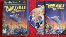 THRILLVILLE : OFF THE RAIL ORIGINAL BLACK LABEL SONY PLAYSTATION 2 PS2 PAL