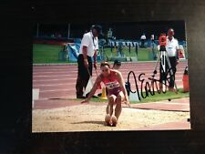 JESSICA ENNIS - OLYMPIC GOLD MEDALLIST - EXCELLENT SIGNED COLOUR PHOTO