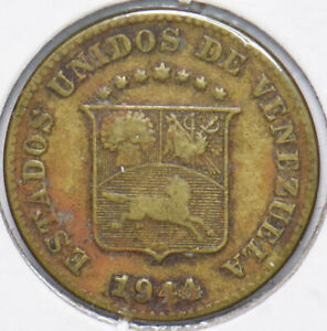 Venezuela 1944 5 Centavos Horse animal 192191 combine shipping