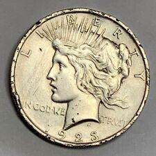 1923 Peace Dollar Top 50 Variety VAM 1F Extra Fine Details Chin Bar