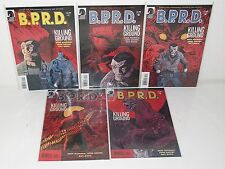 BPRD: THE KILLING GROUND #1-5 - Complete Series - MIKE MIGNOLA John Arcudi -2007