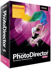 Cyberlink PhotoDirector 5 Ultra Crossgrade       PC        !!!!!! NEU+OVP !!!!!!