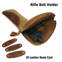 Hunting Shooting Canvas Rifle Bolt Holder Carrier Pouch Case Wallet Cover