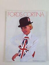 1969 FORD CORTINA SALES BROCHURE, ORIGINAL ITEM, BRITISH FORD