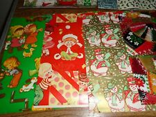 Vintage-Christmas Wrapping Paper - (mixed sizes)