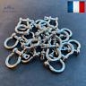 2 Manilles Bracelet Paracorde Lyre Acier Inox Mode Bijoux Survie Randonée