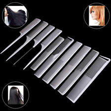 10 Piece Pro Salon Hair Styling Hairdressing Plastic Barbers Brush Combs SetKTP